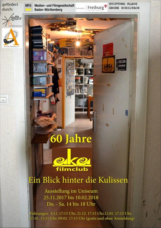 Plakat aka 60 Jahre